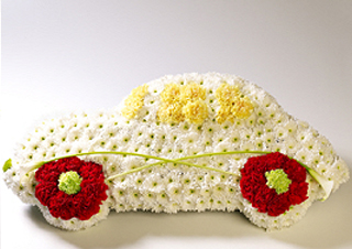 Moores Traditional Funeral Directors - Car Floral Tribute