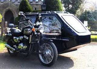 Moores Traditional Funeral Directors - Motorcycle Hearse